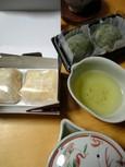 静岡茶と金柑大福&草餅(鶴屋安藝)