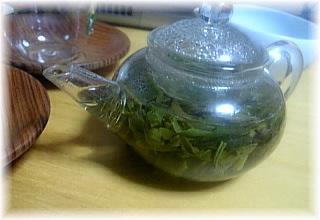 西湖龍井茶(一煎め)