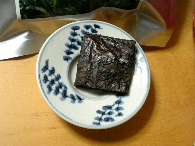 碁石茶(葉)