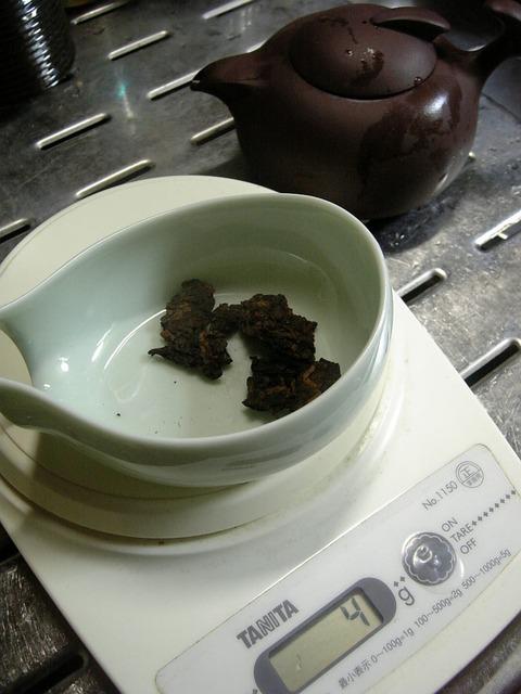 台湾土産プーアル茶