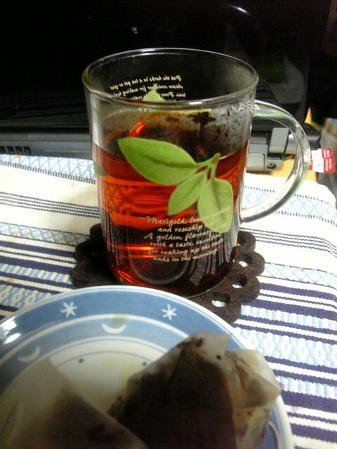謎のクリスマスティ茶湯