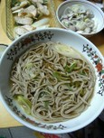 煮白葱(蕎麦)
