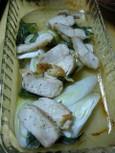焼き白葱(鶏オーブン焼き)