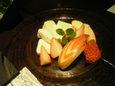 チーズ盛合せ(木の葉リンゴ)