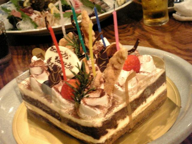 喬太郎師匠お誕生日ケーキ